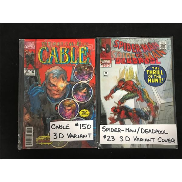 CABLE #150 & SPIDER-MAN/ DEADPOOL (3-D VARIANTS)