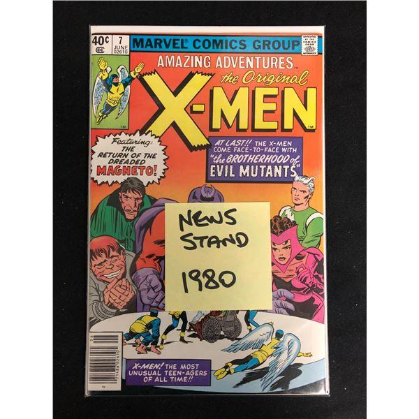 Amazing Adventures The Original X-MEN #7 (MARVEL COMICS)