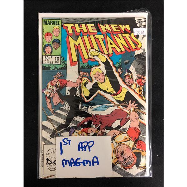 THE NEW MUTANTS #10 (MARVEL COMICS)