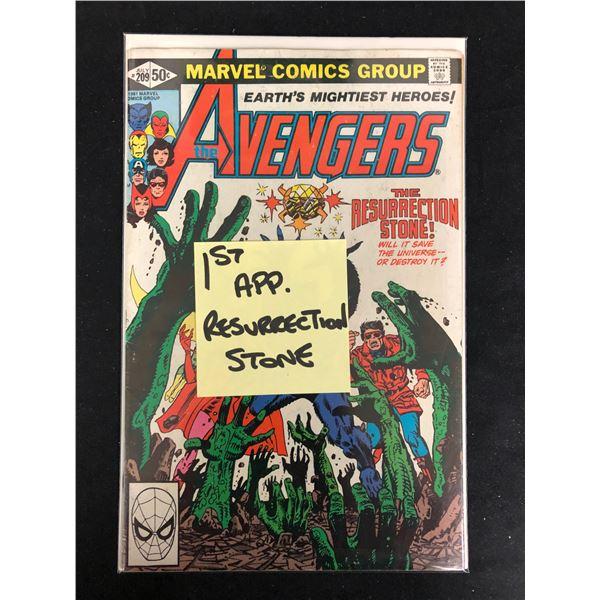 THE AVENGERS #209 (MARVEL COMICS)
