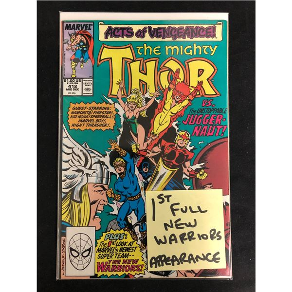 THE MIGHTY THOR #412 (MARVEL COMCIS)