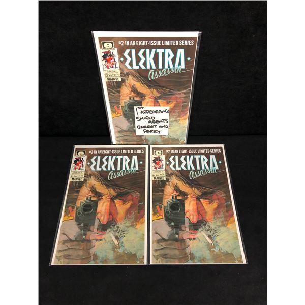 ELEKTRA Assassin #2 (EPIC COMICS) X3