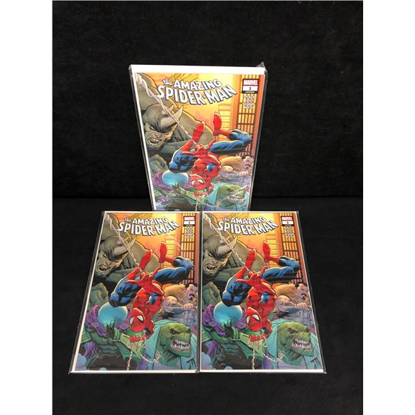 The AMAZING SPIDER-MAN #1 (MARVEL COMICS) X3