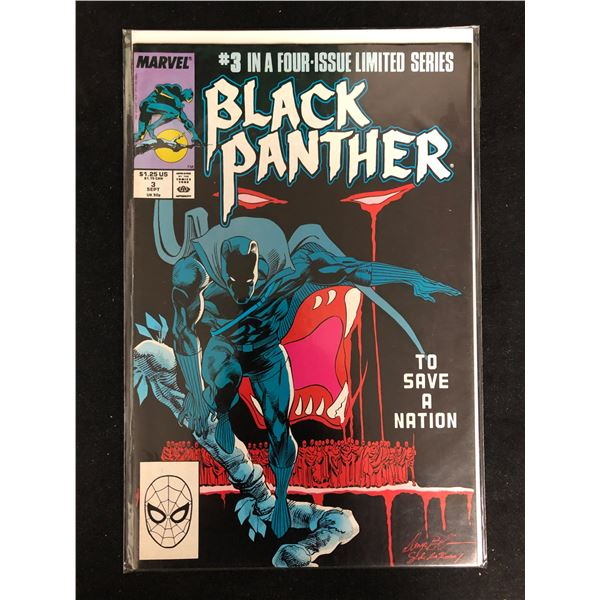 BLACK PANTHER #3 in a Limited Series (MARVEL COMICS)