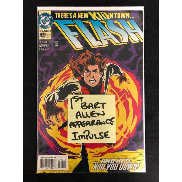 FLASH #92 (DC COMICS)