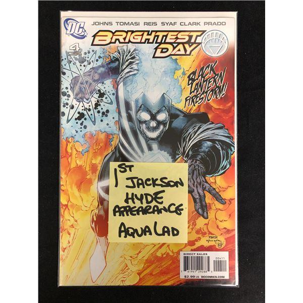 BRIGHTEST DAY #4 (DC COMICS)