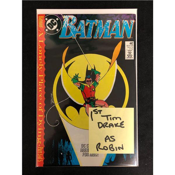 BATMAN #442 (DC COMICS)