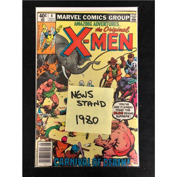 Amazing Adventures The Original X-MEN #6 (MARVEL COMICS)