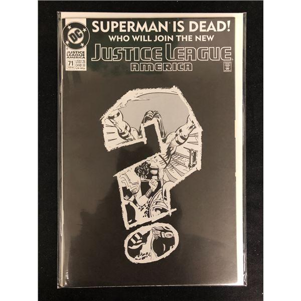 JUSTICE LEAGUE AMERICA #71 (DC COMICS)