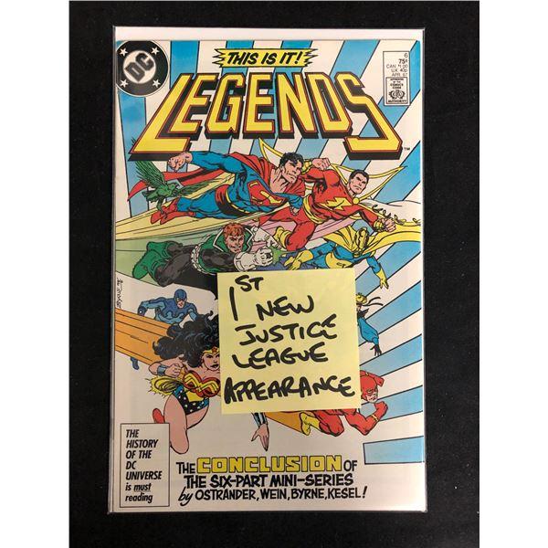 LEGENDS #6 (DC COMICS)