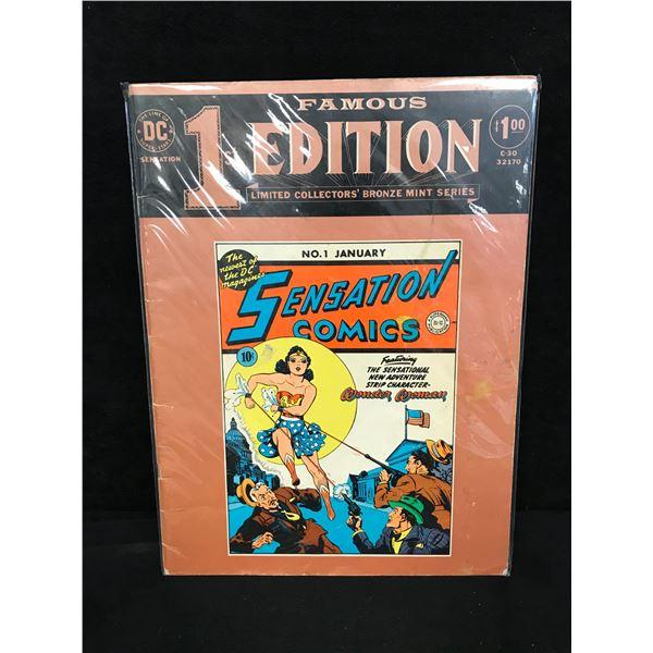 SENSATION COMICS #1 (DC COMICS) Bronze Mint Series
