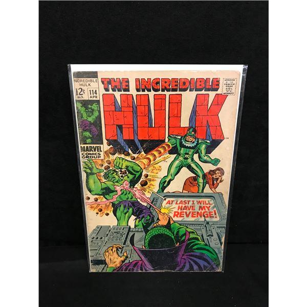 THE INCREDIBLE HULK #114 (MARVEL COMICS)