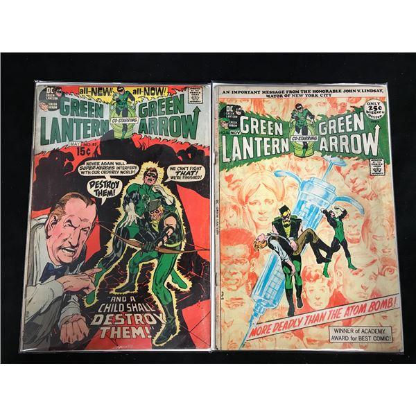 GREEN LANTERN co-starring GREEN ARROW #83/ #86 (DC COMICS)