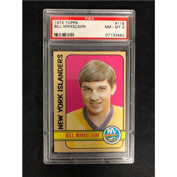 1972 TOPPS #118 BILL MIKKELSON (NM-MT 8)