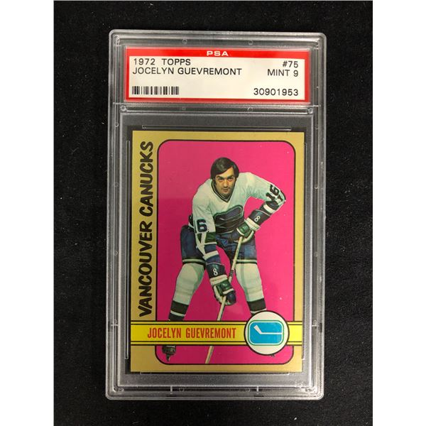 1972 TOPPS #75 JOCELYN GUEVREMONT (NM-MT 8)