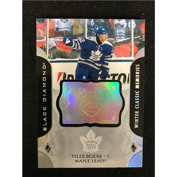 2020-21 Black Diamond Hockey WINTER CLASSIC MEMORIES Leafs TYLER BOZAK WC-TB