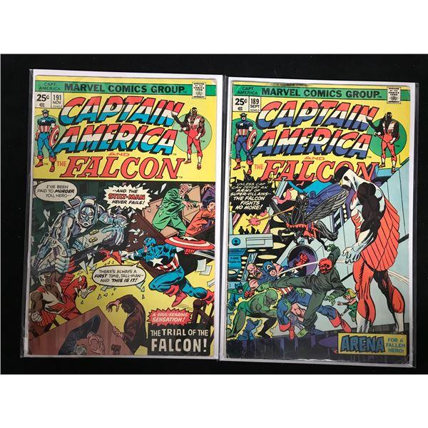 CAPTAIN AMERICA COMIC BOOK LOT (MARVEL COMICS)