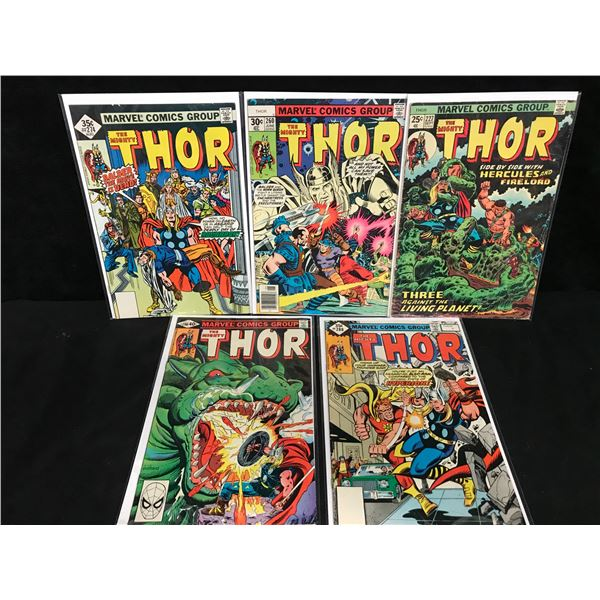 THE MIGHTY THOR COMIC BOOK LOT (MARVEL COMICS)