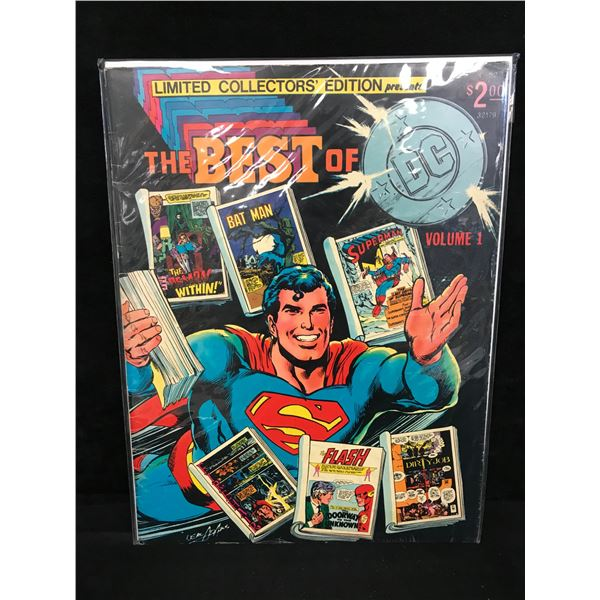 THE BEST OF DC Volume 1 (LIMITED COLLECTORS EDITION)