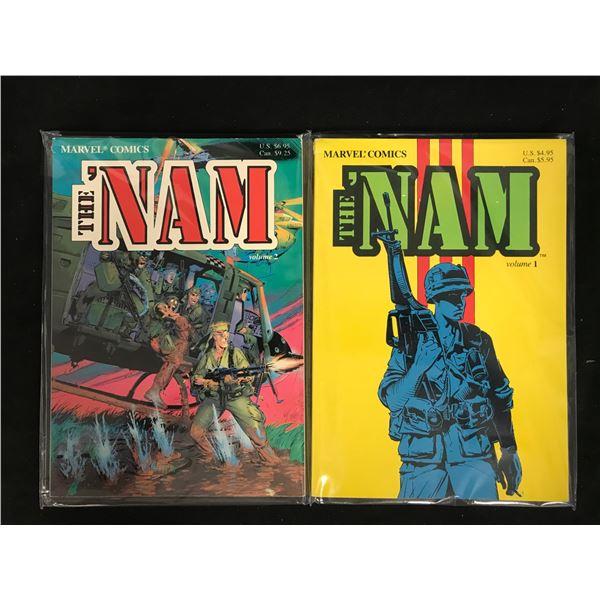 THE 'NAM VOLUME 1 & VOLUME 2 (MARVEL COMICS)