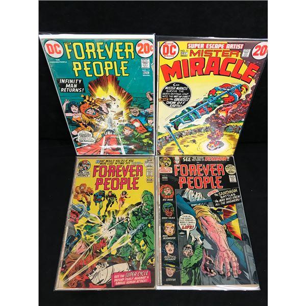 FOREVER PEOPLE COMIC BOOK LOT (DC COMICS)