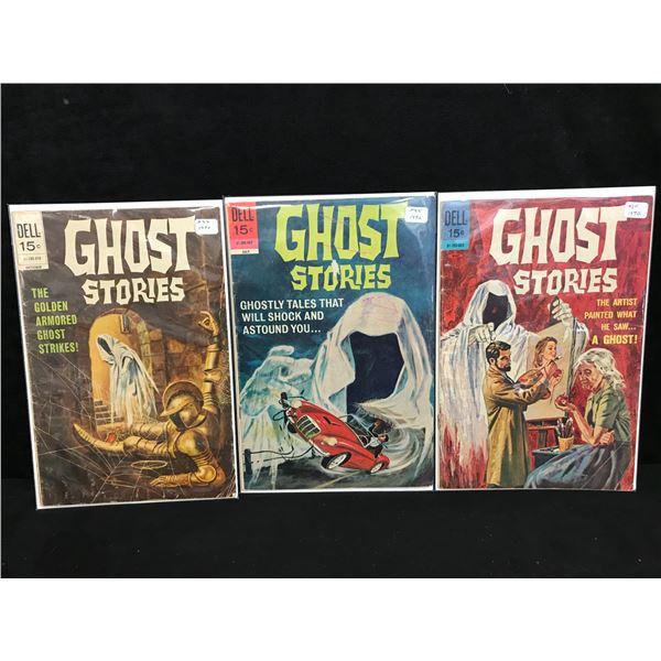 GHOST STORIES COMIC BOOK LOT (DELL COMICS)