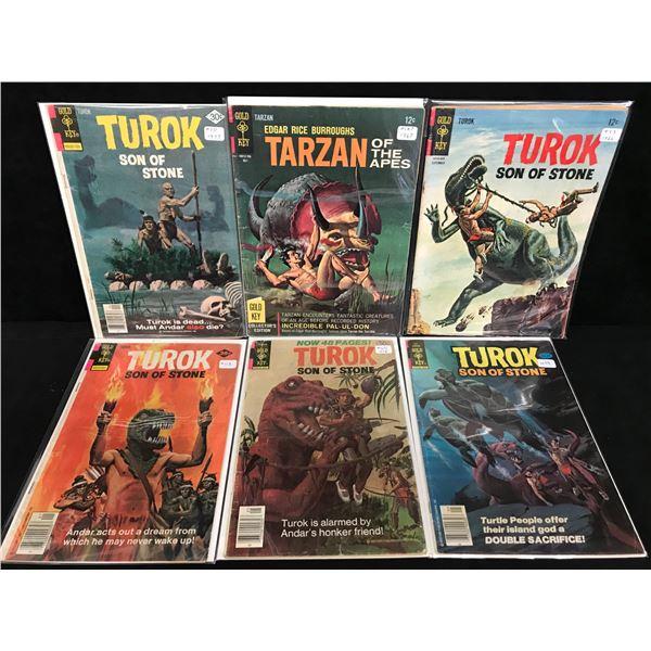 TUROK SON OF STONE COMIC BOOK LOT (GOLD KEY COMICS)