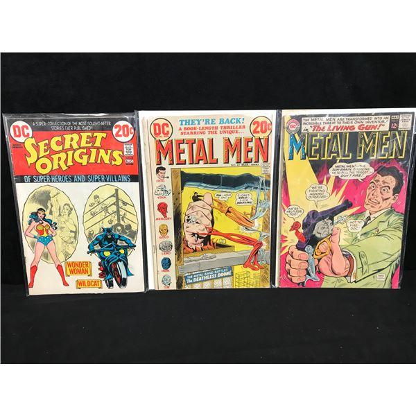 DC COMICS BOOK LOT (SECRET ORIGINS/ METAL MEN)