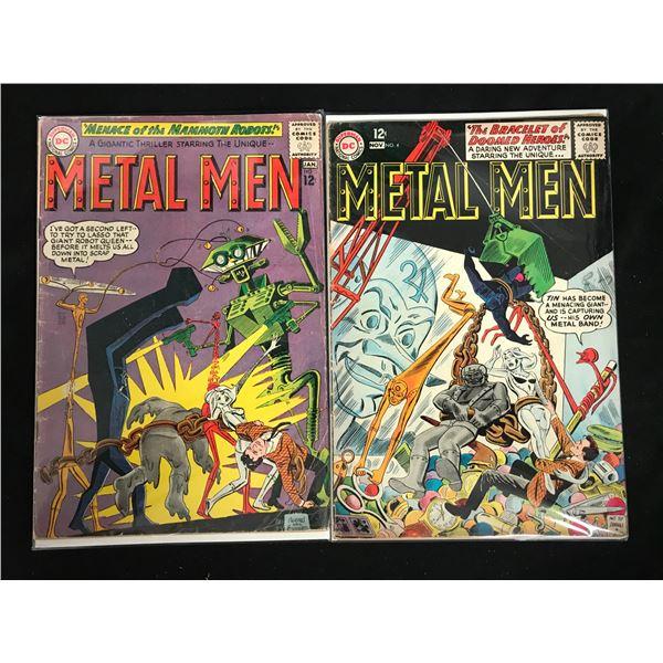 METAL MEN #4-5 (DC COMICS)