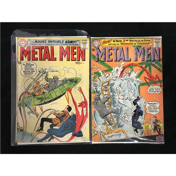 METAL MEN #2-3 (DC COMICS)