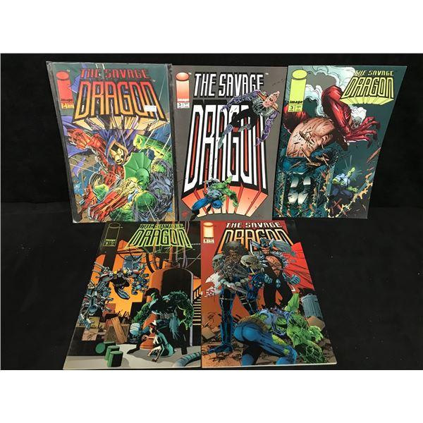 THE SAVAGE DRAGON COMIC BOOK LOT (IMAGE COMICS)