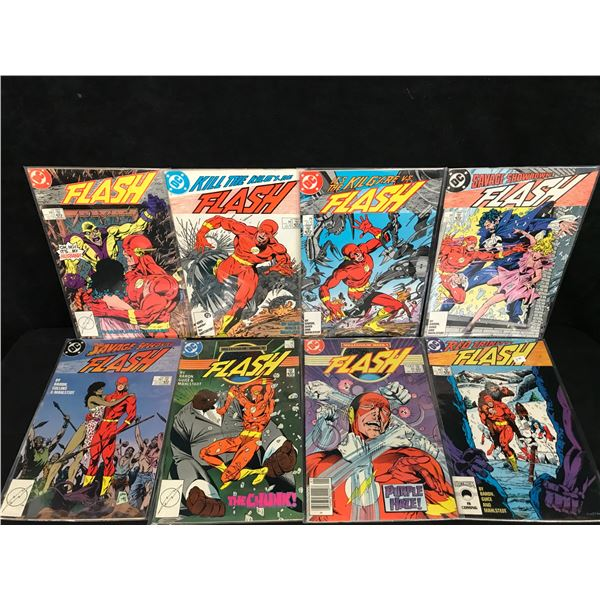 ASSORTED FLASH COMIC BOOK LOT (DC COMICS)