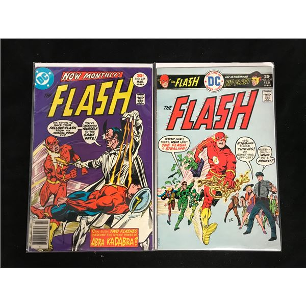 THE FLASH #247 & #239 (DC COMICS)