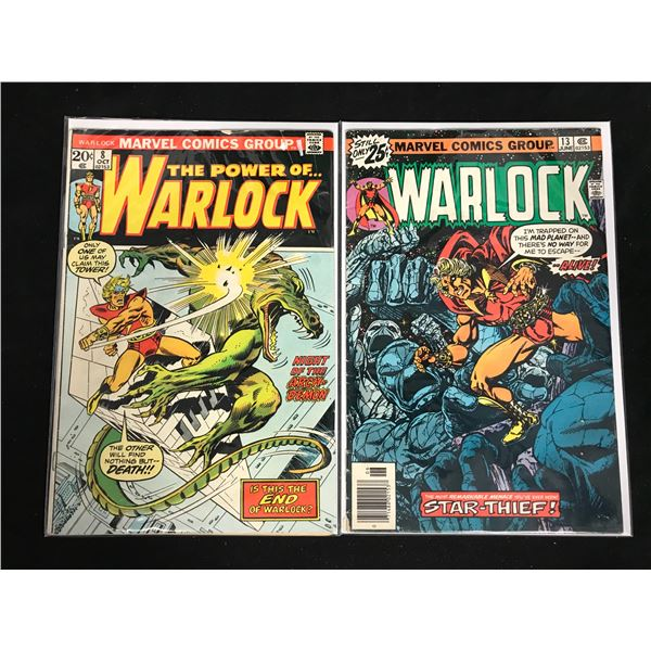 WARLOCK COMIC BOOK LOT (MARVEL COMICS)