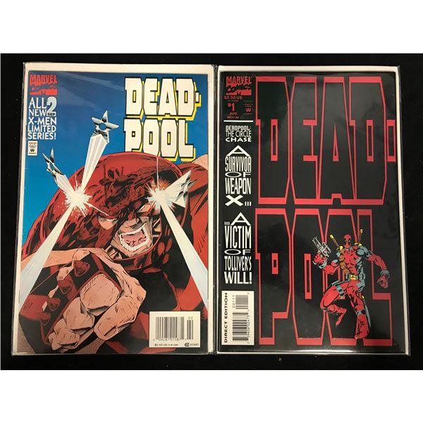 DEADPOOL COMIC BOOK LOT (MARVEL COMICS)