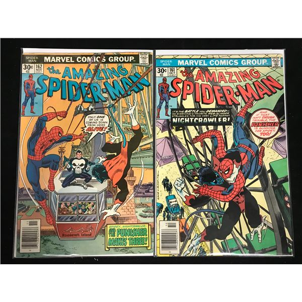 THE AMAZING SPIDER-MAN #161-62 (MARVEL COMICS)