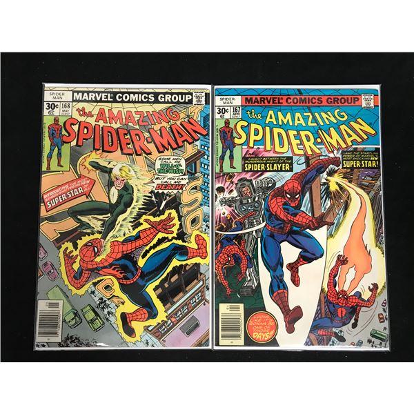 THE AMAZING SPIDER-MAN #167-168 (MARVEL COMICS)