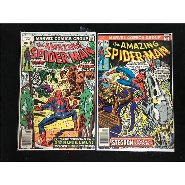 THE AMAZING SPIDER-MAN #165-166 (MARVEL COMICS)