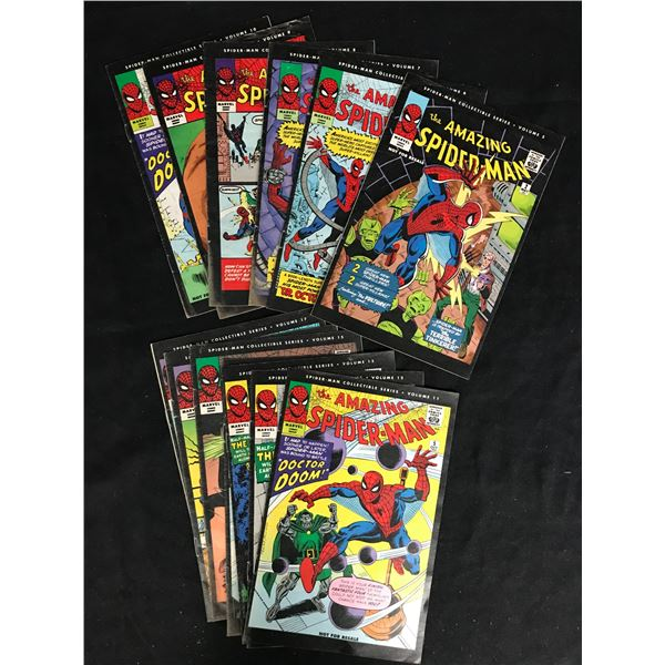 THE AMAZING SPIDER-MAN COLLECTIBLE SERIES BOOK LOT (MARVEL COMICS)