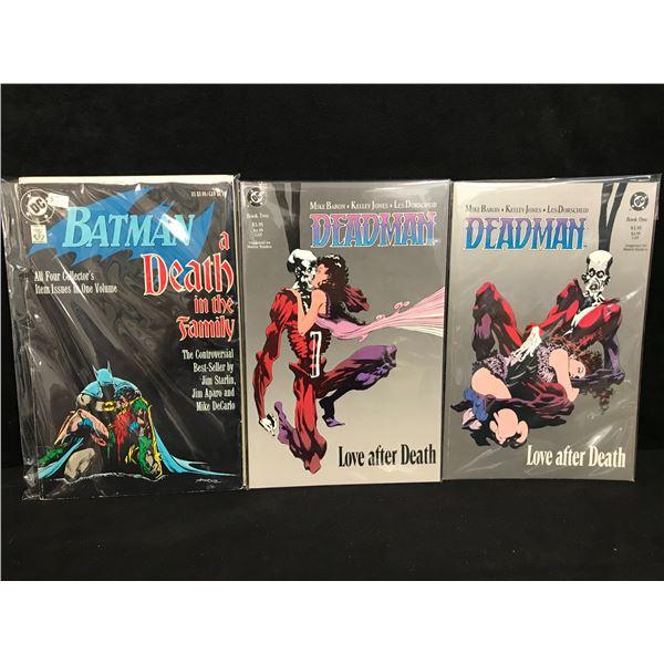 DC COMICS BOOK LOT