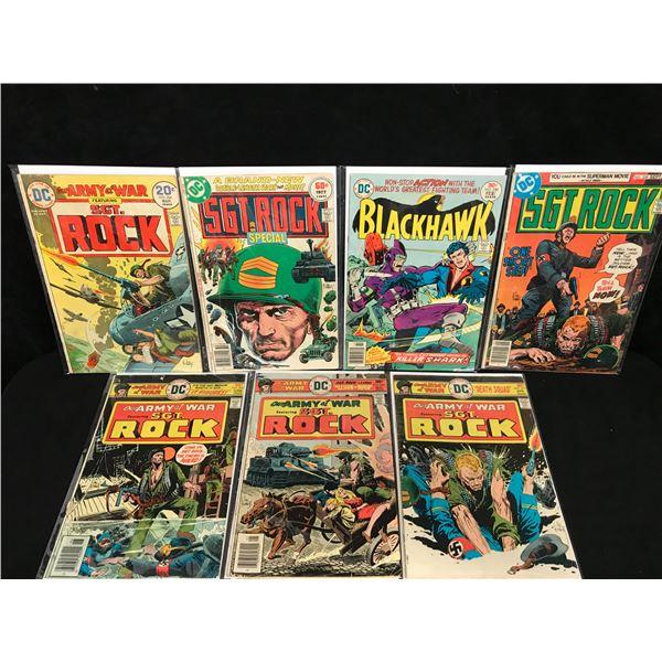 SGT. ROCK COMIC BOOK LOT (DC COMICS)