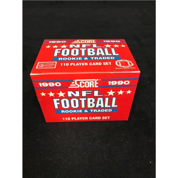 1990 SCORE NFL FOOTBALL PLAYER CARD SET