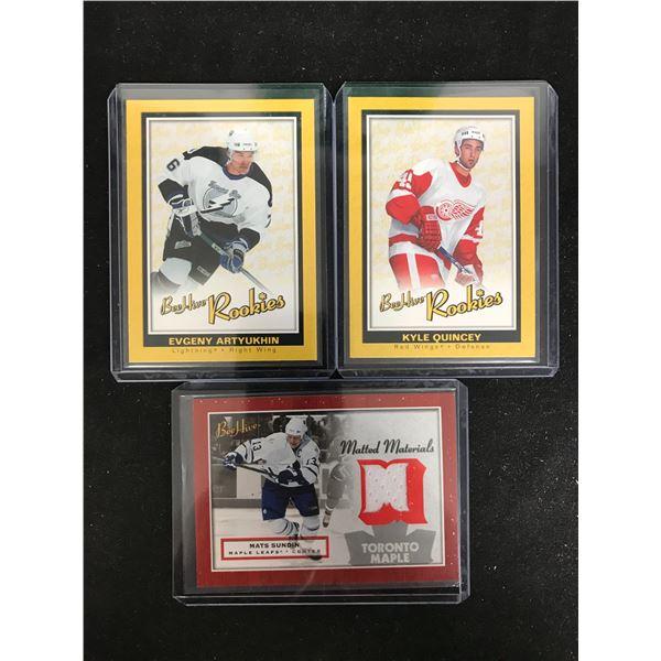 2005-06 Beehive Hockey Rookie Card Lot