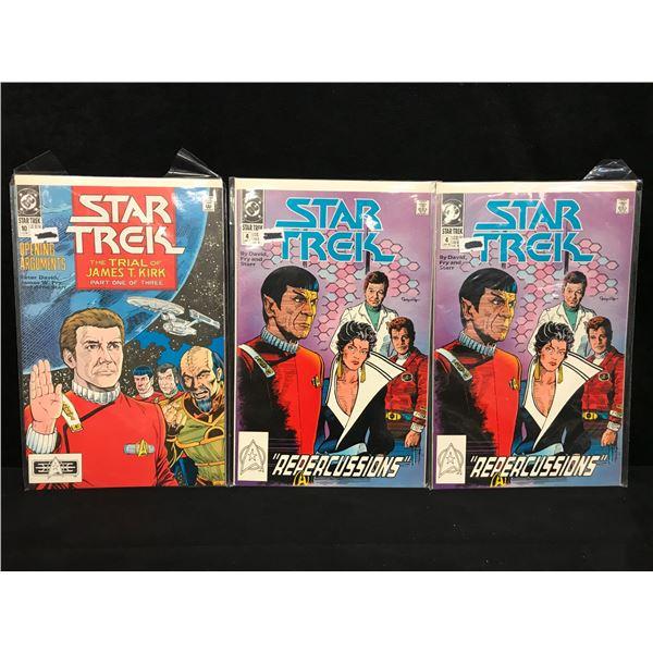 STAR TREK COMIC BOOK LOT (DC COMICS)