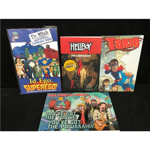 ASSORTED GRAPHIC NOVEL LOT