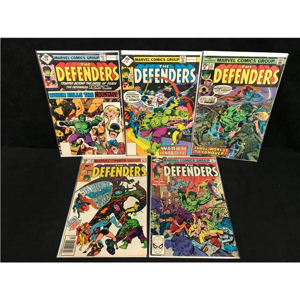 THE DEFENDERS COMIC BOOK LOT (MARVEL COMICS)