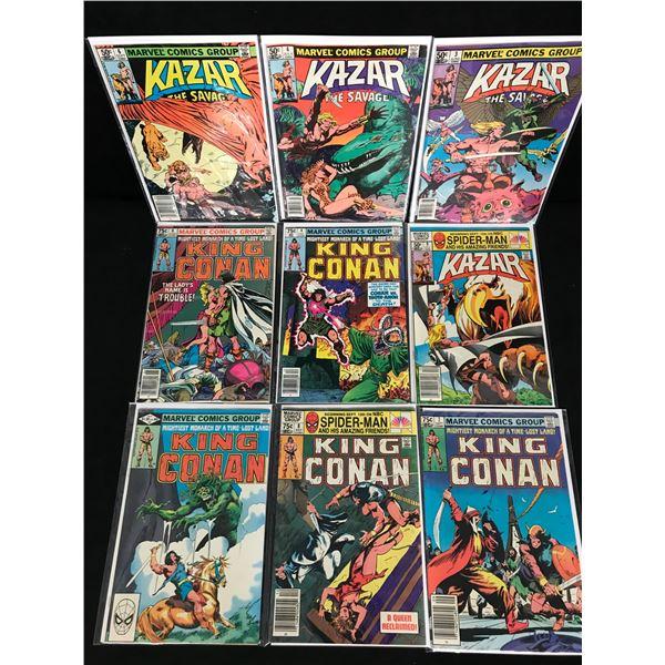 KAZAR COMIC BOOK LOT (MARVEL COMICS)