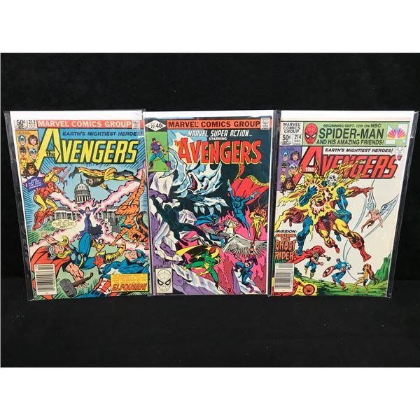 ASSORTED AVENGERS COMIC BOOK LOT (MARVEL COMICS)