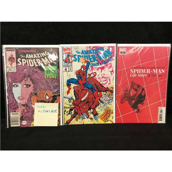 ASSORTED AMAZING SPIDER-MAN COMIC BOOK LOT (MARVEL COMICS)