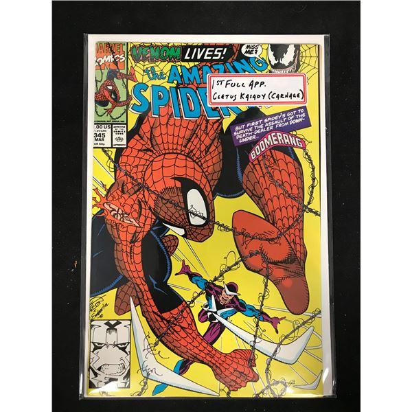 THE AMAZING SPIDER-MAN #345 (MARVEL COMICS)